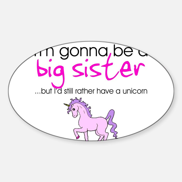 Cute Soon to be big sister Decal