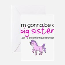 Cute New sister Greeting Card