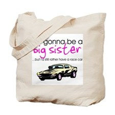 Unique Soon to be big sister Tote Bag