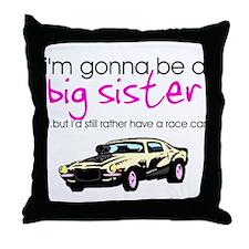 Cute Big sister Throw Pillow