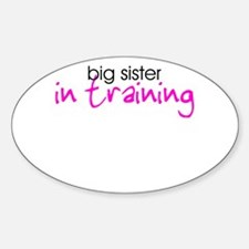 Big Sister in Training Decal
