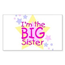 I'm the Big Sister Decal