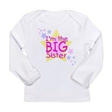 I'm the Big Sister Long Sleeve Infant T-Shirt