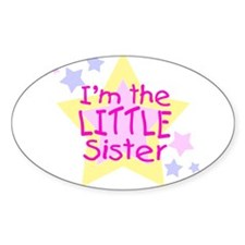 I'm the Little Sister Decal
