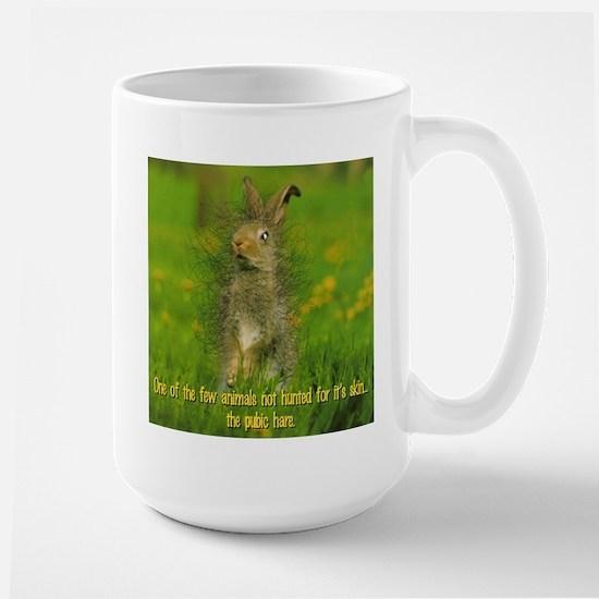 Pubic Hare Large Mug