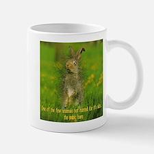 Pubic Hare Small Mugs