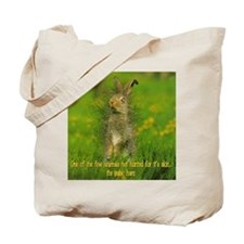 Pubic Hare Tote Bag