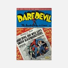 $4.99 Classic Dare Devil Rectangle Magnet