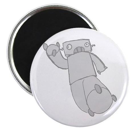 grey robot Magnet