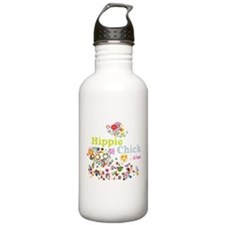 Hippie Chick ... at heart Water Bottle