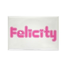 """Felicity"" Rectangle Magnet"