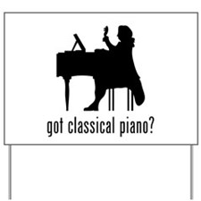 Classical Piano Yard Sign