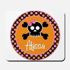 Personalized Punk Princess Skull Mousepad