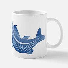 trout fish jumping Mug
