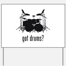 Drums Yard Sign