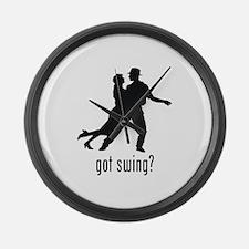 Swing Dancing Large Wall Clock