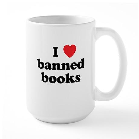 Banned Books Large Mug