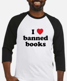 Banned Books Baseball Jersey