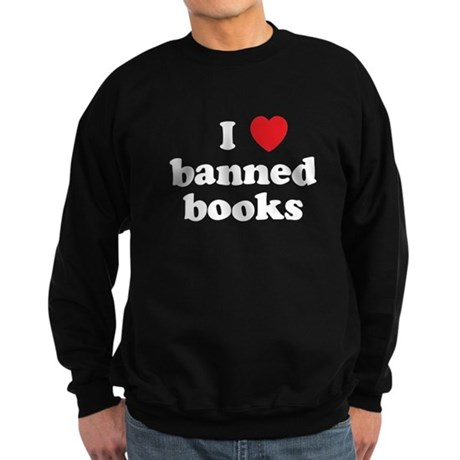 Banned Books Sweatshirt (dark)