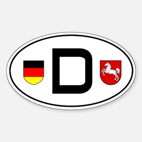 Germany car sticker (Niedersachsen variant)