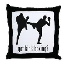 Kick Boxing Throw Pillow