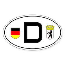 Germany car sticker (Berlin variant)