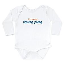 Honorary Oooompa Loompa Long Sleeve Infant Bodysui