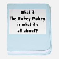 Hokey Pokey Infant Blanket