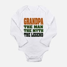 Grandpa - The Legend Long Sleeve Infant Bodysuit
