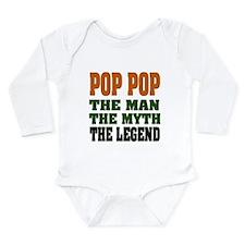 POP POP - the legend Long Sleeve Infant Bodysuit