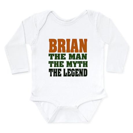 BRIAN - The Legend Long Sleeve Infant Bodysuit
