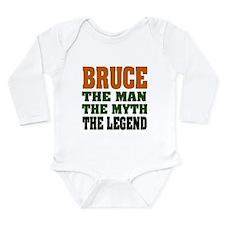 BRUCE - The Legend Long Sleeve Infant Bodysuit