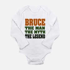 BRUCE - The Legend Long Sleeve Infant Bodysuit