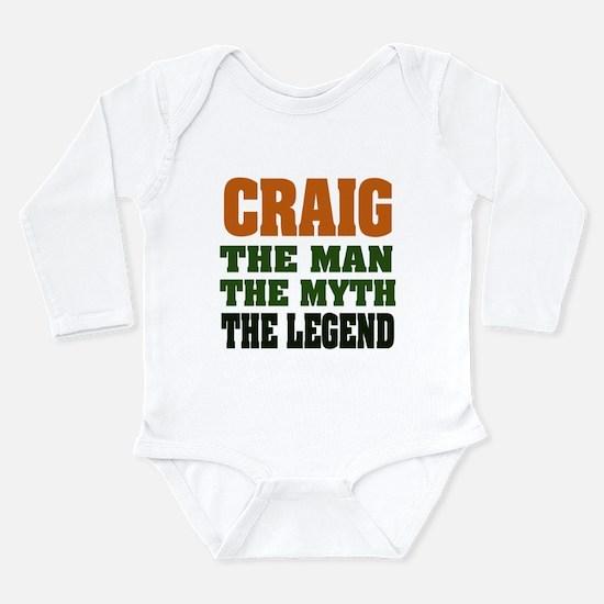 CRAIG - The Legend Long Sleeve Infant Bodysuit