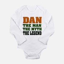 DAN - The Legend Long Sleeve Infant Bodysuit