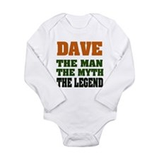 DAVE - The Legend Long Sleeve Infant Bodysuit