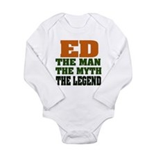 ED - The Legend Long Sleeve Infant Bodysuit