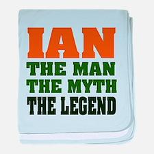 Ian the Legend Infant Blanket