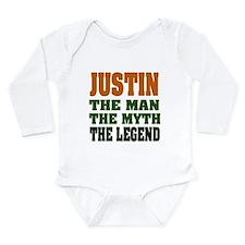 JUSTIN - The Legend Long Sleeve Infant Bodysuit