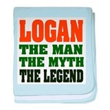Logan the man the myth the legend Blanket