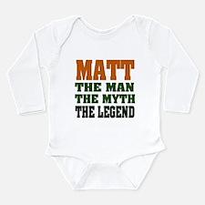 MATT - The Legend Long Sleeve Infant Bodysuit