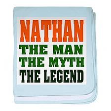 NATHAN - the legend! Infant Blanket