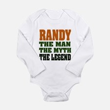RANDY - the legend! Long Sleeve Infant Bodysuit