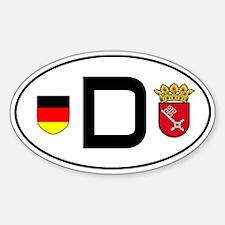 Germany car sticker (Bremen variant)