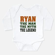 RYAN - the legend! Long Sleeve Infant Bodysuit