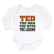 TED - The Legend Long Sleeve Infant Bodysuit
