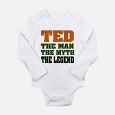 TED - The Legend Long Sleeve Infant Bodysuit
