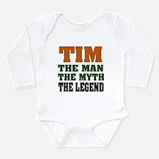 TIM- The Legend Long Sleeve Infant Bodysuit