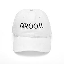 GROOM Baseball Cap