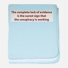 Conspiracy Evidence Infant Blanket